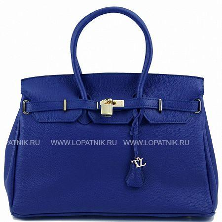 Сумка женская TUSCANY TL141092-6Женские сумки<br>Экстравагантная женская сумка из натуральной текстурированной кожи. Для ношения имеются удлиненные ручки, вместительное внутреннее пространство состоит из одного отделения с вшитыми карманами. Хорошо подходит женщинам любого возраста и любой комплекции и прекрасно дополняет внешний вид.<br>Материал: Натуральная кожа; Цвет: Синий; Пол: Женский; Артикул: TL141092-6;