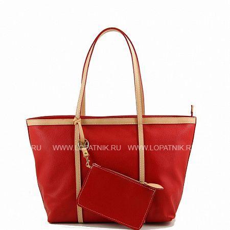 Сумка женская TUSCANY TL141100-3Женские сумки<br>Отличная женская сумочка из текстурированной кожи, приятной на ощупь. Просторное внутреннее отделение с дополнительным вшитым карманом под застежкой «молния» вместит не только все многочисленные женские «штучки», но и позволит уложить небольшие покупки и подарки для близких Вам людей.<br>Материал: Натуральная кожа; Цвет: Красный; Пол: Женский; Артикул: TL141100-3;