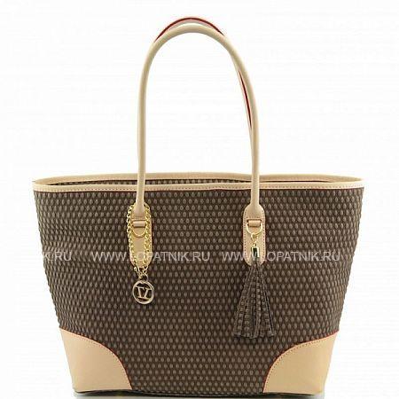 Сумка женская TUSCANY TL141146-5Женские сумки<br>Оригинальная изящная женская сумка в строгом стиле, изготовленная из натуральной кожи превосходной выделки. Внутри одно большое отделение и плоский карман на молнии.<br>Материал: Натуральная кожа; Цвет: Бежевый; Пол: Женский; Артикул: TL141146-5;