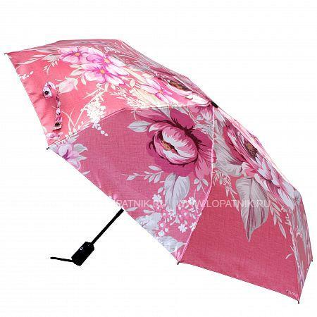 Купить Зонт складной женский FLIORAJ 013-036 FJ, Розовый, Разноцветный