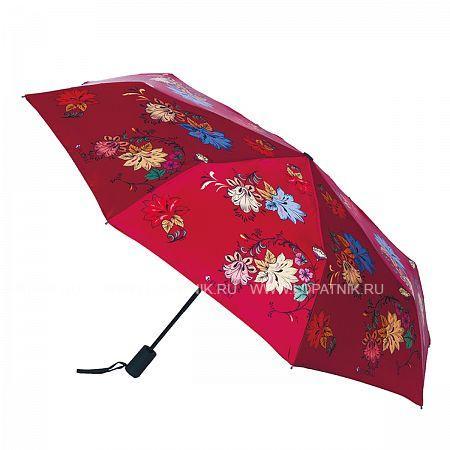 Купить Зонт складной женский FLIORAJ 190203 FJ, Красный