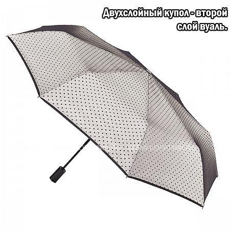 Купить Зонт складной женский FLIORAJ 22001 FJ, Серый