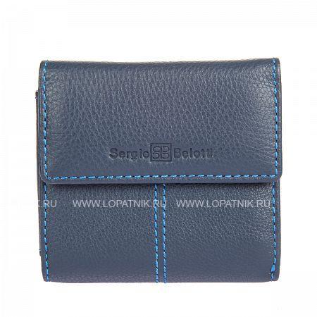 Портмоне мужское SERGIO BELOTTI 3410 INDIGOПортмоне и кошельки<br>Материал: натуральная кожа<br>Размеры (см): 10 x 2.5 x 9.5<br>Производитель: Sergio Belotti, Италия<br>Описание:<br> закрыавается клапаном на кнопке<br> внутри отдел для купюр<br> потайной карман<br> два кармашка для пластиковых карт<br> снаружи на задней стенке карман для мелочи на кнопке<br>Материал: Натуральная кожа; Цвет: Синий; Пол: Мужской; Артикул: 3410 indigo;