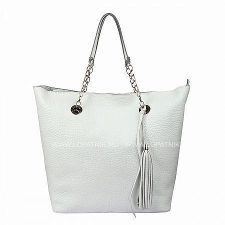 Сумка женская GIANNI CONTI 1543415 WHITEЖенские сумки<br>Описание:<br> закрывается на молнию<br> внутри большой отдел, в котором<br> съемная косметичка на молнии<br>Материал: Натуральная кожа; Цвет: Белый; Пол: Женский; Артикул: 1543415 white;
