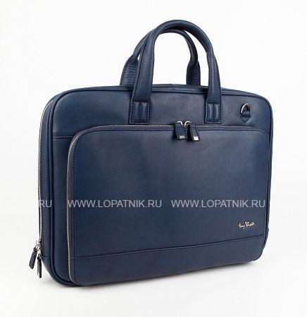 Купить Сумка для ноутбука TONY PEROTTI 560110W/6, Синий, Натуральная кожа