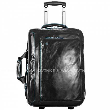 Сумка-тележка PIQUADRO BV2960B2/NДорожные сумки<br>Большая удобная дорожная сумка-тележка + портплед тройного сложения.<br>Внутри расположены два глубоких отсека под вещи и обувь, а также под костюм или платье. Одно из отделений имеет сетку-разделитель на молнии для разделения багажа на две секции.<br>Внутри сумки-тележки легко распределить сорочки, аксессуары и ноутбук.<br>Сумка-тележка имеет прочную выдвижную ручку-спиннер, колёса и две ручки для переноски как с вертикальной, так и с горизонтальной сторон. Расположенный внутри портплед съёмный.<br>Материал: Натуральная кожа; Цвет: Черный; Пол: Мужской, Женский; Артикул: BV2960B2/N;