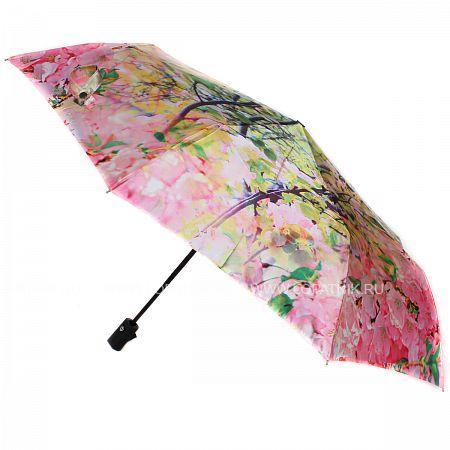 Купить Зонт складной женский FLIORAJ 231216 FJ, Зеленый, Розовый, Желтый, Белый
