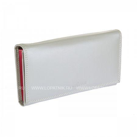 Кошелек кожаный женский GIANNI CONTI 1808021 PEARL AK MULTIПортмоне и кошельки<br>Материал: натуральная кожа<br>Цвет: серый<br>Размеры (см): 17 x 3 x 10<br>Производитель: Gianni Conti Elda Trade S.R.L., Италия<br>Описание:<br> закрывается широким клапаном на кнопке<br> внутри три отдела для купюр<br> отделение для мелочи с классическим зажимом<br> три потайных кармашка (один из них на молнии)<br> два кармашка для документов<br> пять кармашков для пластиковых карт<br> один сечтатый карман для пропуска<br>Материал: Натуральная кожа; Цвет: Серый; Пол: Женский; Артикул: 1808021 pearl ak multi;