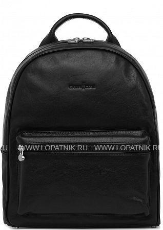 Купить Рюкзак кожаный женский GIANNI CONTI 914309 BLACK, Черный, Натуральная кожа