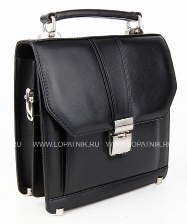 Купить Портфель кожаный мужской PETEK 768.000.01, Черный, Натуральная кожа