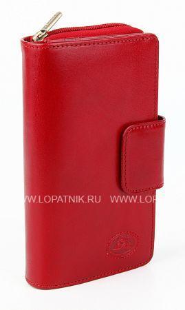 Купить Портмоне кожаное женское TONY PEROTTI 330091/4, Красный, Натуральная кожа