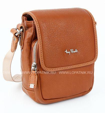 Купить Сумка на плечевом ремне TONY PEROTTI 560021/5, Оранжевый, Натуральная кожа