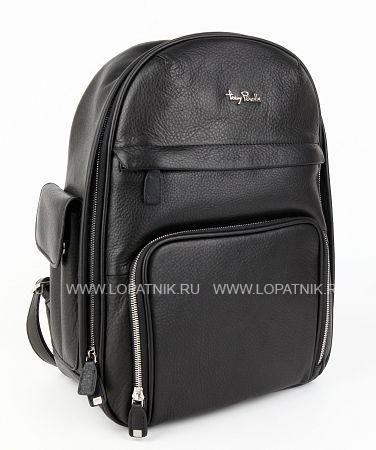 Купить Рюкзак кожаный TONY PEROTTI 561351/1, Черный, Натуральная кожа
