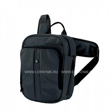 Сумка VICTORINOX Deluxe Travel Companion VICTORINOX 31174201Дорожные сумки<br>Сумка VICTORINOX Deluxe Travel Companion, вертикальная с наплечными ремнями, с возможностью ношения в 3 положениях, чёрная, нейлон 800D, 21x10x27 см, 6л<br>Материал: None; Цвет: None; Пол: None; Артикул: 31174201;