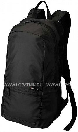 Складной рюкзак VICTORINOX VICTORINOX 31374801Дорожные сумки<br>Складной рюкзак VICTORINOX Packable Backpack, чёрный, полиэстер 150D, 25x14x46 см, 16 л<br>Материал: None; Цвет: None; Пол: None; Артикул: 31374801;