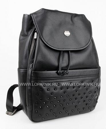 Купить Рюкзак кожаный женский BRUNO PERRI 7252-4/1, Черный, Натуральная кожа