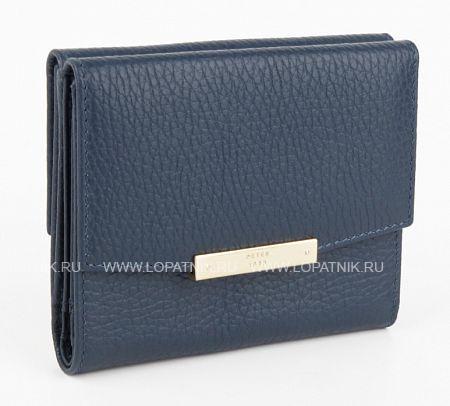 Купить Женское кожаное портмоне PETEK S15012.46D.88, Синий, Натуральная кожа