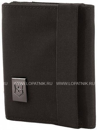 Бумажник VICTORINOX Lifestyle Accessories 4.0 Tri-Fold Wallet VICTORINOX 31172401Дорожные сумки<br>Бумажник VICTORINOX Lifestyle Accessories 4.0 Tri-Fold Wallet, чёрный, нейлон, 9x3x10 см<br>Материал: None; Цвет: None; Пол: None; Артикул: 31172401;