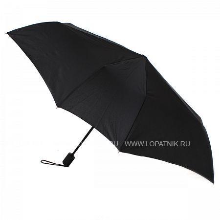 Купить Зонт складной мужской FLIORAJ 010100 FJ, Черный, Полиэстер (тканевый)