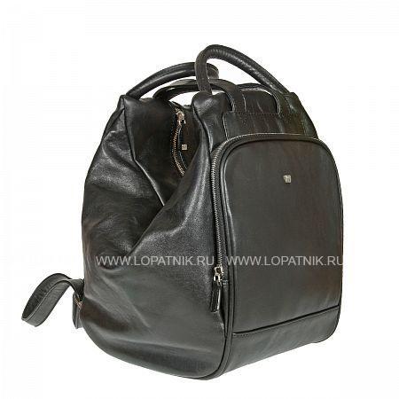 Купить Кожаный мужской рюкзак SERGIO BELOTTI 9815 WEST BLACK, Черный, Натуральная кожа
