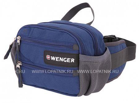 Сумка на пояс WENGER 1828343016Дорожные сумки<br>Сумка на пояс WENGER, синий, полиэстер M2, 23х9х7 см<br>Материал: None; Цвет: None; Пол: None; Артикул: 1828343016;