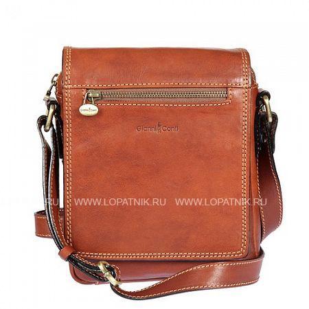 Планшет кожаный мужской GIANNI CONTI 912343 TANМужские сумки через плечо<br>Материал: натуральная кожа<br>Цвет: рыжий<br>Высота ручек (см): 67<br>Размеры (см): 18.5 x 6 x 22<br>Производитель: Gianni Conti Elda Trade S.R.L., Италия<br>Описание:<br>- закрывается клапаном на магнитной кнопке и на молнию<br>- внутри отдел, в котором карман на молнии<br>- кармашек для мелких предметов<br>- на передней стенке под клапаном карман<br>- снаружи на передней и задней стенках карман на молнии<br>- оснащен регулируемым плечевым ремнем<br>Материал: Натуральная кожа; Цвет: Коричневый; Пол: Мужской; Артикул: 912343 tan;