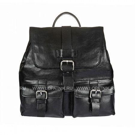 Рюкзак кожаный женский GIANNI CONTI 912474 BLACKРюкзаки женские<br>Материал: натуральная кожа<br>Высота ручек (см): 4.5<br>Размеры (см): 30.5 x 13 x 28<br>Производитель: Gianni Conti Elda Trade S.R.L., Италия<br>Описание:<br>- закрывается клапаном на оригинальный замок и затягивается на завязки<br>- внутри отдел, в котором<br>- карман на молнии<br>- два кармашка для мелких предметов<br>- держатель для авторучки<br>- снаружи на передней стенке два кармашка на магнитной кнопке<br>- на задней стенке карман на молнии<br>- оснащен регулируемыми плечевыми лямками<br>Материал: Натуральная кожа; Цвет: Черный; Пол: Женский; Артикул: 912474 black;