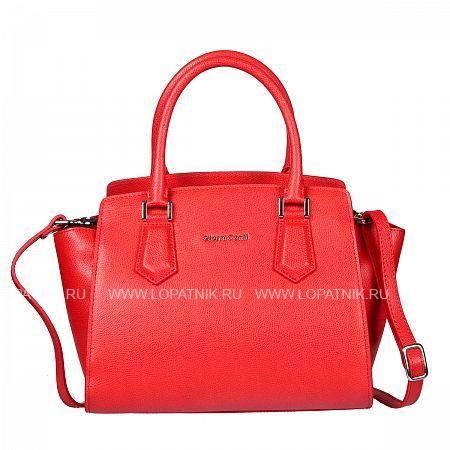 Женская кожаная сумка GIANNI CONTI 2153202 CORALЖенские сумки<br>Материал: натуральная кожа<br>Высота ручек (см): 13<br>Размеры (см): 28 x 17 x 23<br>Производитель: Gianni Conti Elda Trade S.R.L., Италия<br>Описание:<br>- закрывается на молнию<br>- внутри отдел, в котором<br>- карман на молнии<br>- два кармашка для мелких предметов<br>- держатель для авторучки<br>- оснащена съемным регулируемым плечевым ремнем на карабинах<br>Материал: Натуральная кожа; Цвет: Красный; Пол: Женский; Артикул: 2153202 coral;