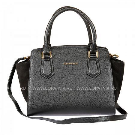 Женская кожаная сумка GIANNI CONTI 2283202 BLACKЖенские сумки<br>Материал: натуральная кожа<br>Цвет: черный<br>Высота ручек (см): 13<br>Размеры (см): 28 x 17 x 22<br>Производитель: Gianni Conti Elda Trade S.R.L., Италия<br>Описание:<br>- закрывается на молнию<br>- внутри отдел, в котором<br>- карман на молнии<br>- два кармашка для мелких предметов<br>- держатель для авторучки<br>- оснащена съемным регулируемым плечевым ремнем на карабинах<br>Материал: Натуральная кожа; Цвет: Черный; Пол: Женский; Артикул: 2283202 black;