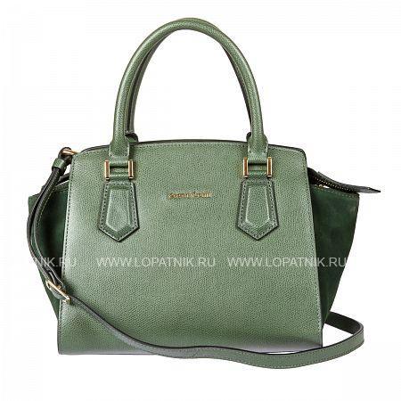 Женская кожаная сумка GIANNI CONTI 2283202 GREENЖенские сумки<br>Материал: натуральная кожа<br>Высота ручек (см): 13<br>Размеры (см): 28 x 17 x 22<br>Производитель: Gianni Conti Elda Trade S.R.L., Италия<br>Описание:<br>- закрывается на молнию<br>- внутри отдел, в котором<br>- карман на молнии<br>- два кармашка для мелких предметов<br>- держатель для авторучки<br>- оснащена съемным регулируемым плечевым ремнем на карабинах<br>Материал: Натуральная кожа; Цвет: Зеленый; Пол: Женский; Артикул: 2283202 green;