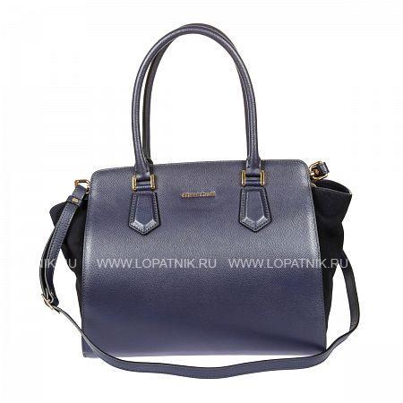 Женская кожаная сумка GIANNI CONTI 2283227 BLUEЖенские сумки<br>Материал: натуральная кожа<br>Высота ручек (см): 19<br>Размеры (см): 33 x 17 x 28<br>Производитель: Gianni Conti Elda Trade S.R.L., Италия<br>Описание:<br>- закрывается на молнию<br>- внутри отдел, в котором<br>- два кармана на молнии<br>- два кармашка для мелких предметов<br>- держатель для авторучки<br>- карман для мелких предметов<br>- оснащена съемным регулируемым плечевым ремнем на карабинах<br>Материал: Натуральная кожа; Цвет: Синий; Пол: Женский; Артикул: 2283227 blue;