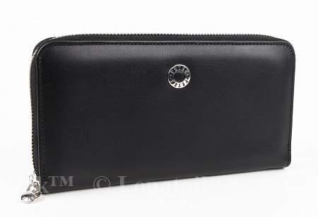 Купить Женский кошелек из натуральной кожи PETEK 397/2.000.A10, Синий, Черный, Натуральная кожа