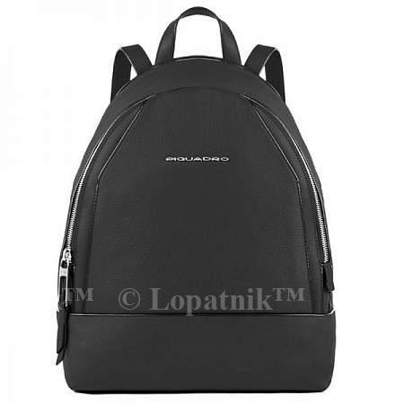 Купить Женский рюкзак Piquadro Muse PIQUADRO CA4327MU/N, Черный, Натуральная кожа