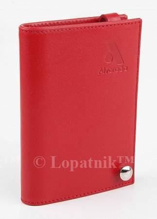 Визитница ALVORADA 3004 RED