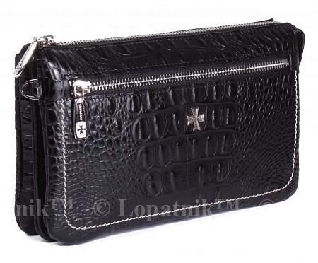 b8165af366e6 Клатч мужской VASHERON 9449 N BAMBINO BLACK купить в Новосибирске