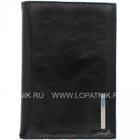Купить Обложка для водительских прав черная PIQUADRO AS379B2/N, Черный, Натуральная кожа