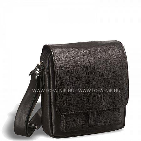 Кожаная сумка через плечо Lucca (Лукка) black BRIALDI BRIALDI-1050
