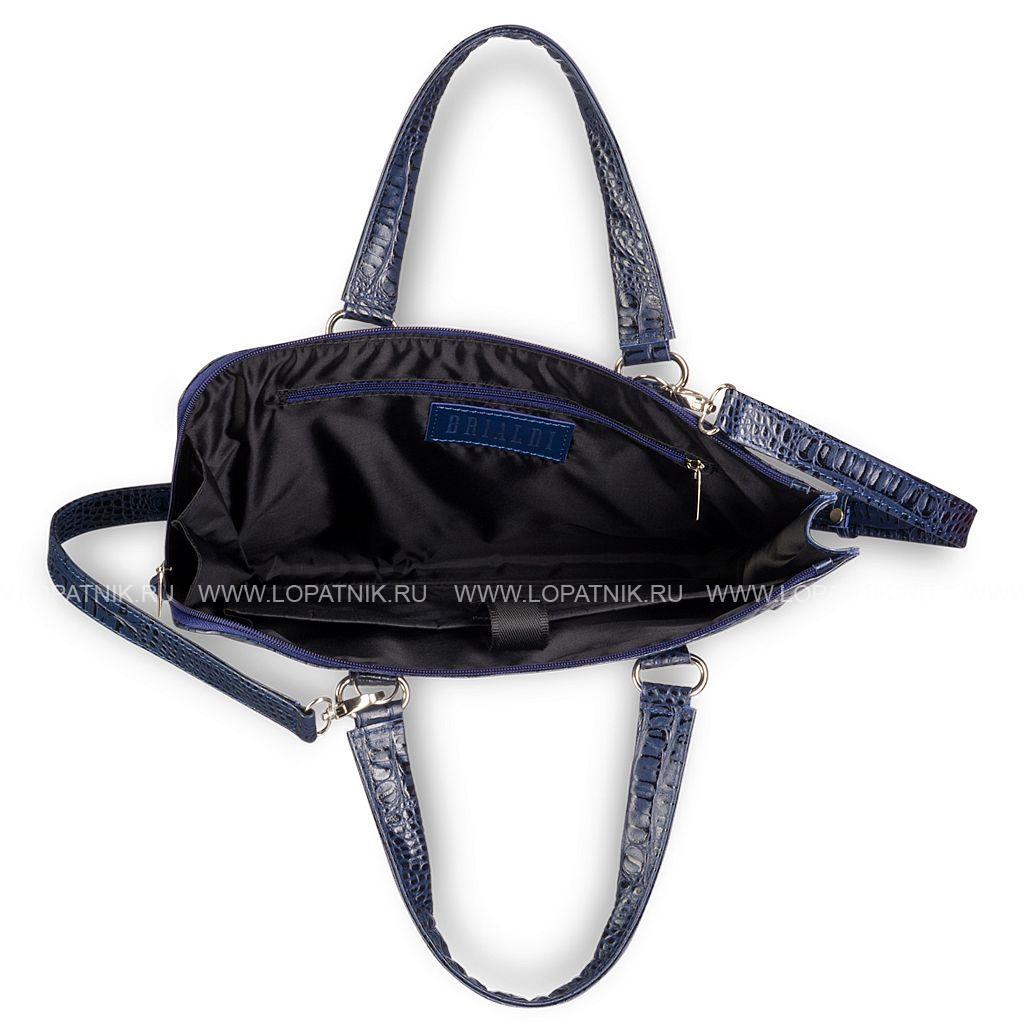 52fff3e84586 Женская деловая сумка BRIALDI Aisa (Аиса) croco navy Brialdi brialdi ...