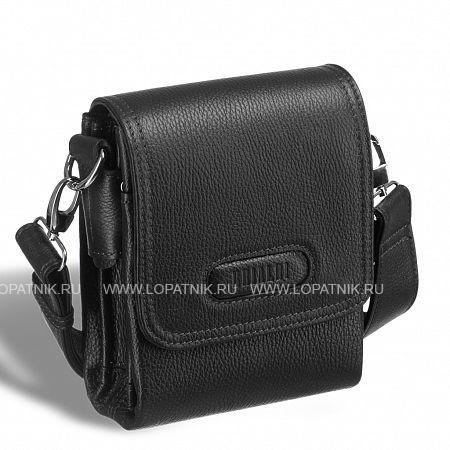 Кожаная сумка через плечо BRIALDI Cleveland (Кливленд) relief black BRIALDI-12970