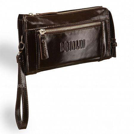 Мужской клатч BRIALDI Columbus (Колумбус) shiny brown BRIALDI-8405