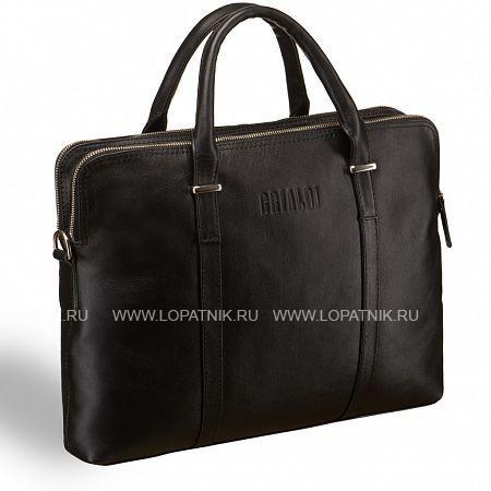 Деловая сумка BRIALDI Durango (Дуранго) black BRIALDI-8446