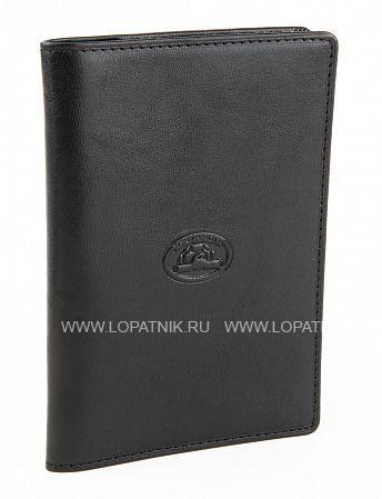 Купить Кожаная обложка для паспорта TONY PEROTTI 273435/1, Черный, Натуральная кожа