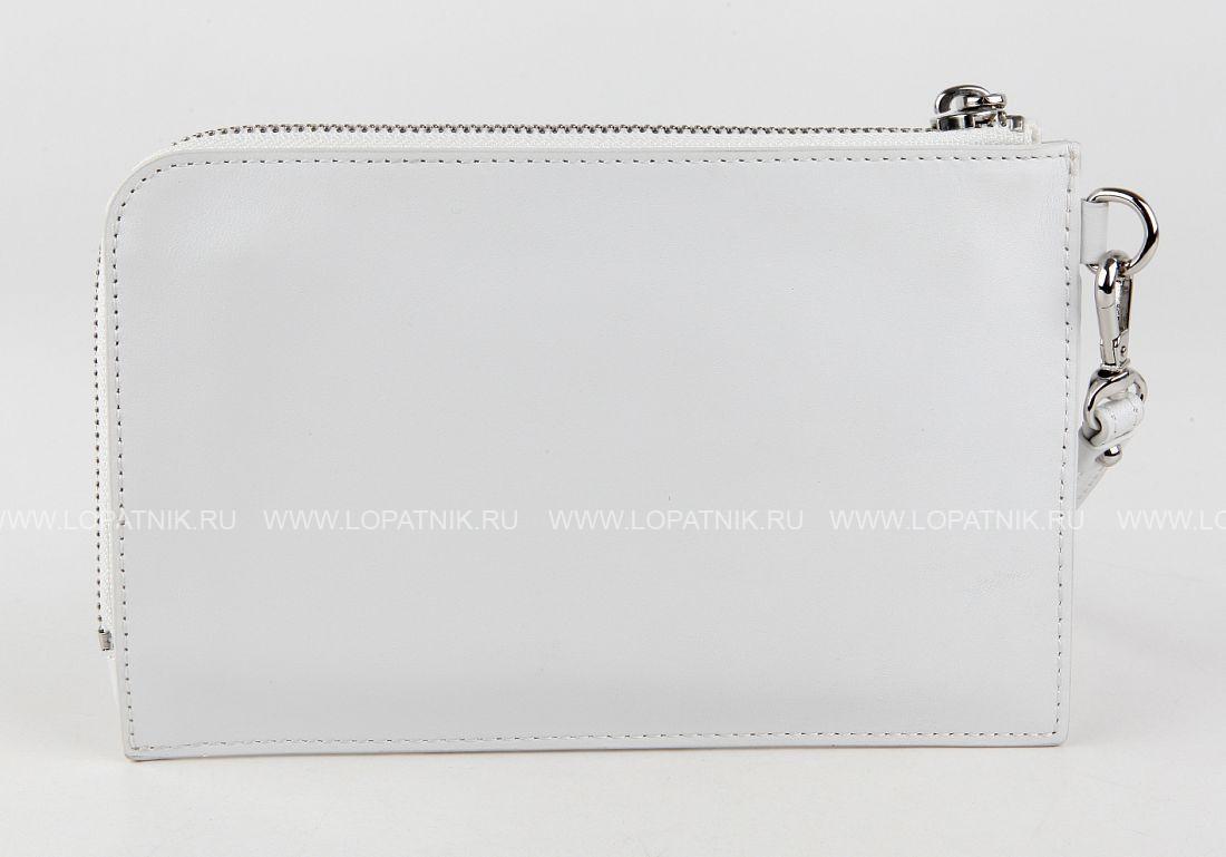 3d7fb6716e57 Женский кожаный клатч DKNY 362100802 white, Белый цена 12 570 руб ...