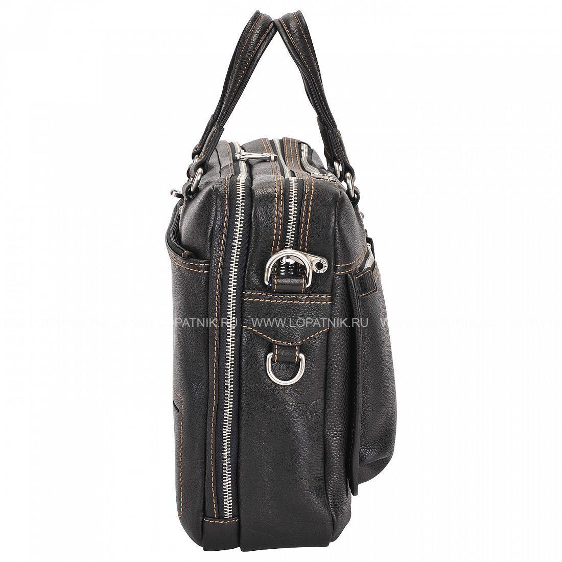 53ffe00cabfc Мужская кожаная деловая сумка Dr.Koffer B402321-02-04, Черный цена ...