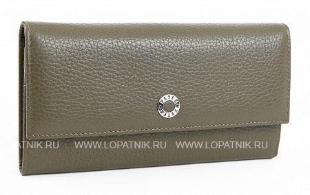 Купить Женский кожаный кошелек PETEK 400.46D.99, Серый, Натуральная кожа