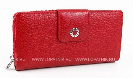 Купить Женское кожаное портмоне PETEK 460.46B.10, Красный, Натуральная кожа
