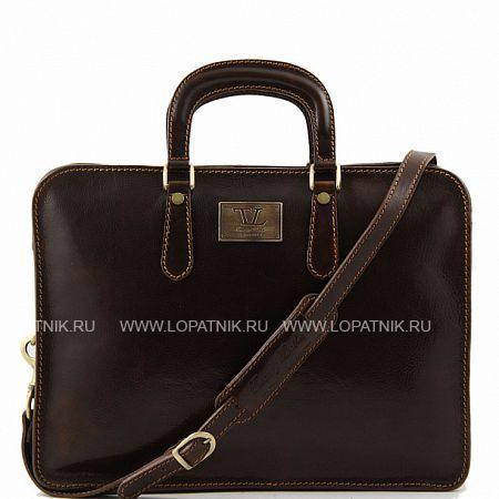 Купить Портфель со съемным плечевым ремнем TUSCANY TL140961-02, Коричневый, Натуральная кожа