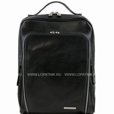 Сумка-рюкзак для ноутбука TUSCANY TL141289-1, Черный, Натуральная кожа  - купить со скидкой