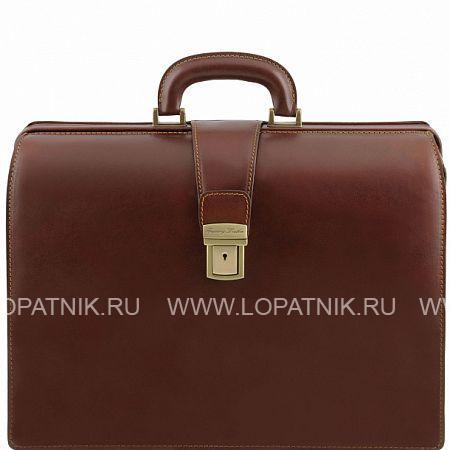 Купить Кожаный портфель-саквояж TUSCANY TL141347-2, Коричневый, Натуральная кожа