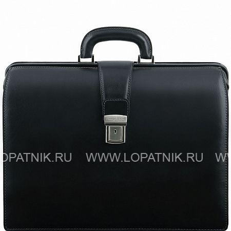 Купить Кожаный портфель-саквояж TUSCANY TL141347-1, Черный, Натуральная кожа